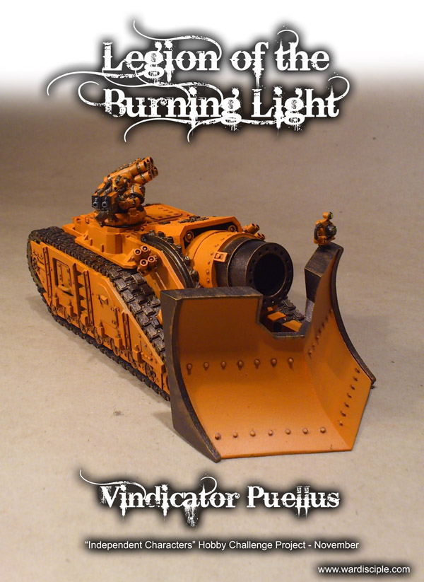 Vindicator Puellus Blazing